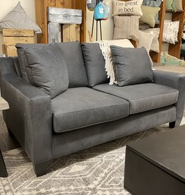 Stylus Coba Loveseat in Chrome Charcoal (5)