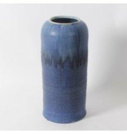 Vase CJ Kaltz Blue Ceramic Large 2091DM26580L