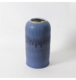 Vase CJ Kaltz Blue Ceramic Small 2091DM26590S