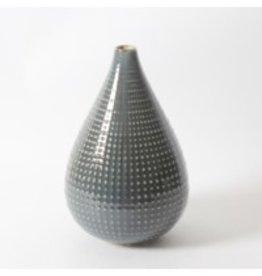 Vase CJ Ceramic Blue Gold Small 2929DM234200