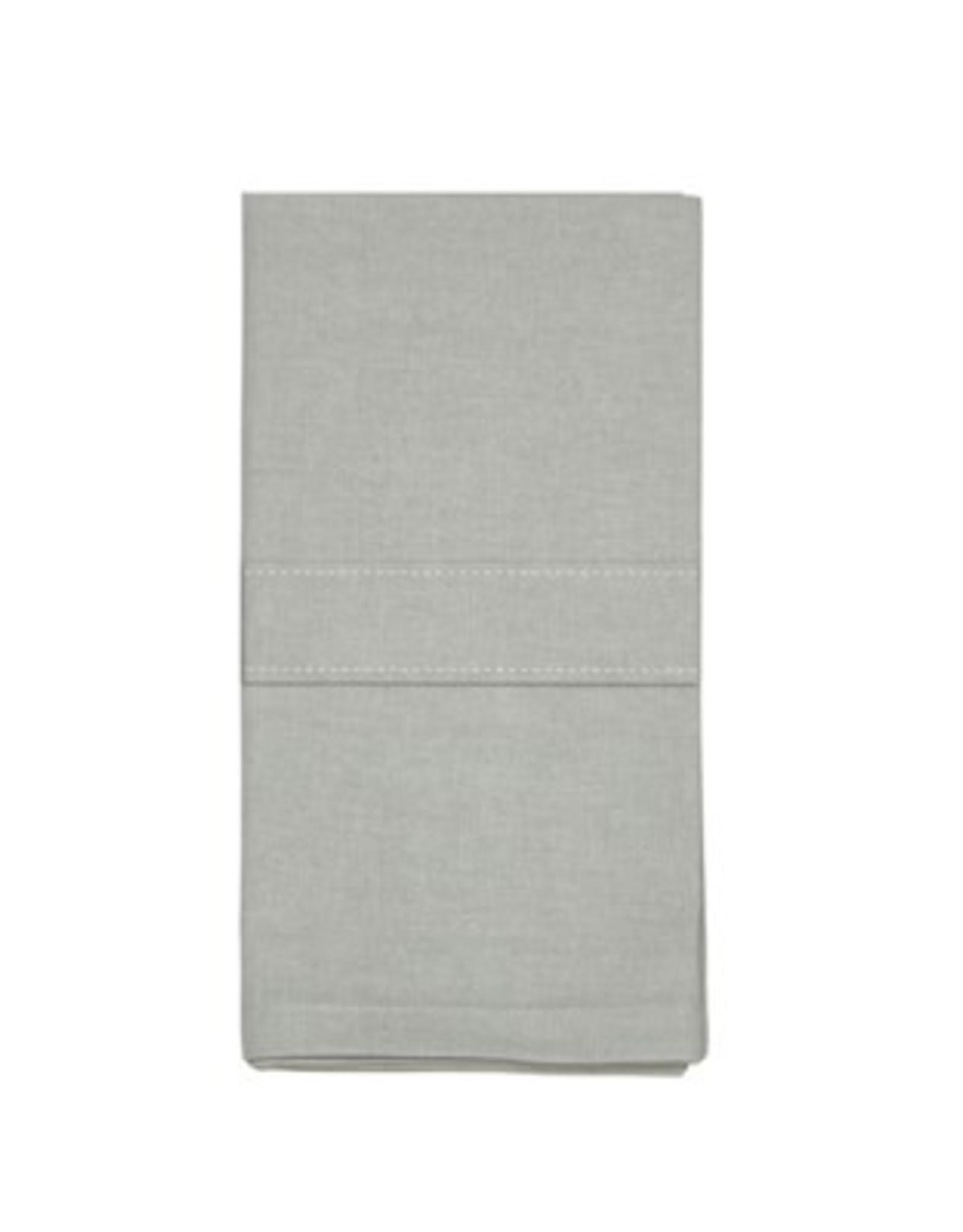 Napkins Harman Stock Solid Set of 4 Grey