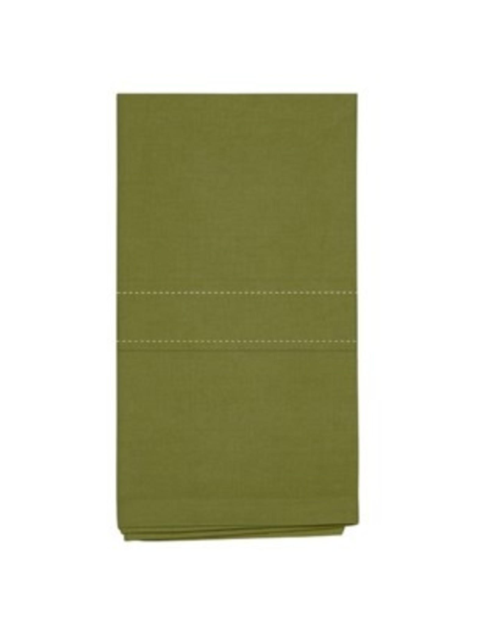 Napkins Harman Stock Solid Set of 4 Olive
