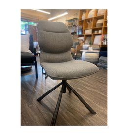 Mobital Mobital Cheema Swivel Dining Chair Pewter