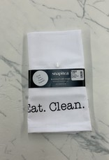 Snapitea Tea Towel Snapitea Cook Eat Clean