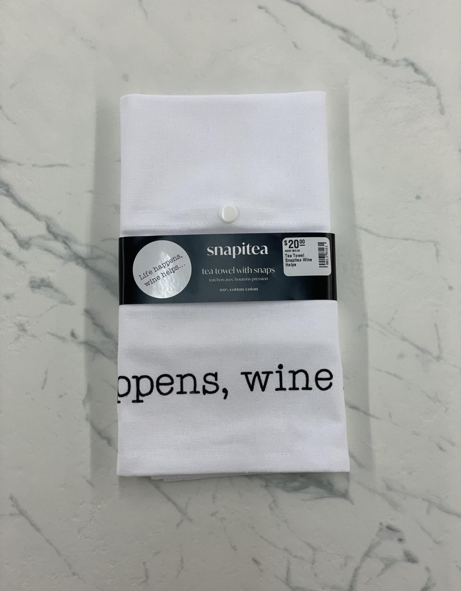 Snapitea Tea Towel Snapitea Wine Helps