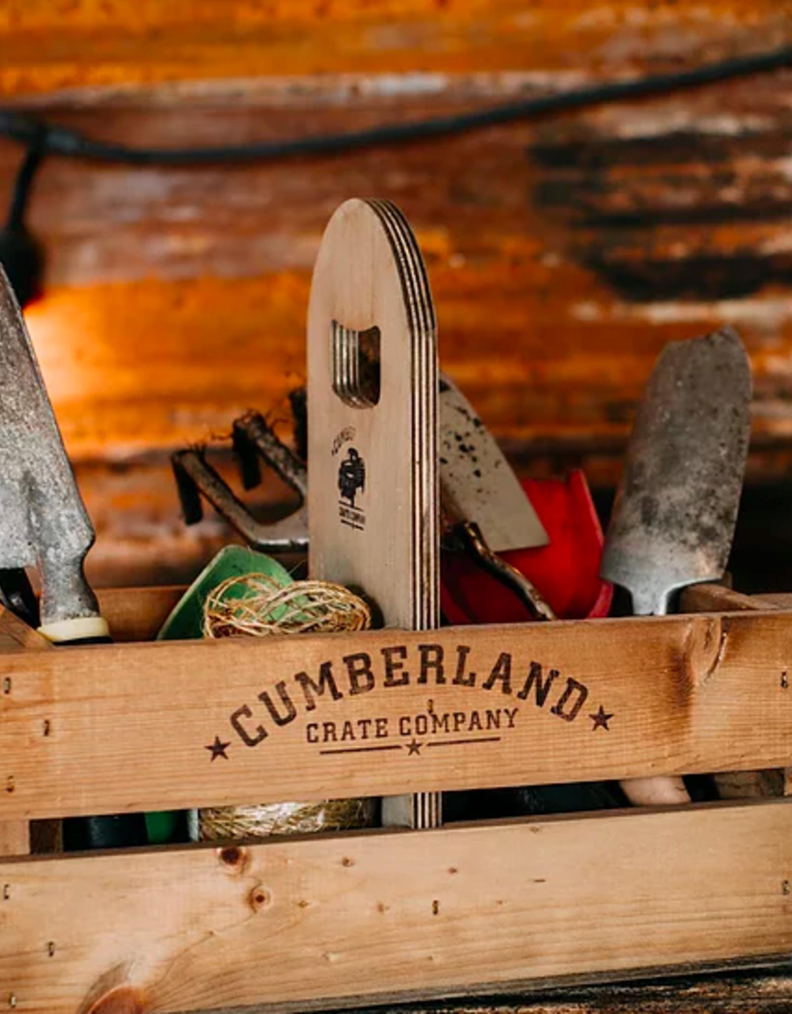 Cumberland Crates Cumberland Crates Growler Crate Antique