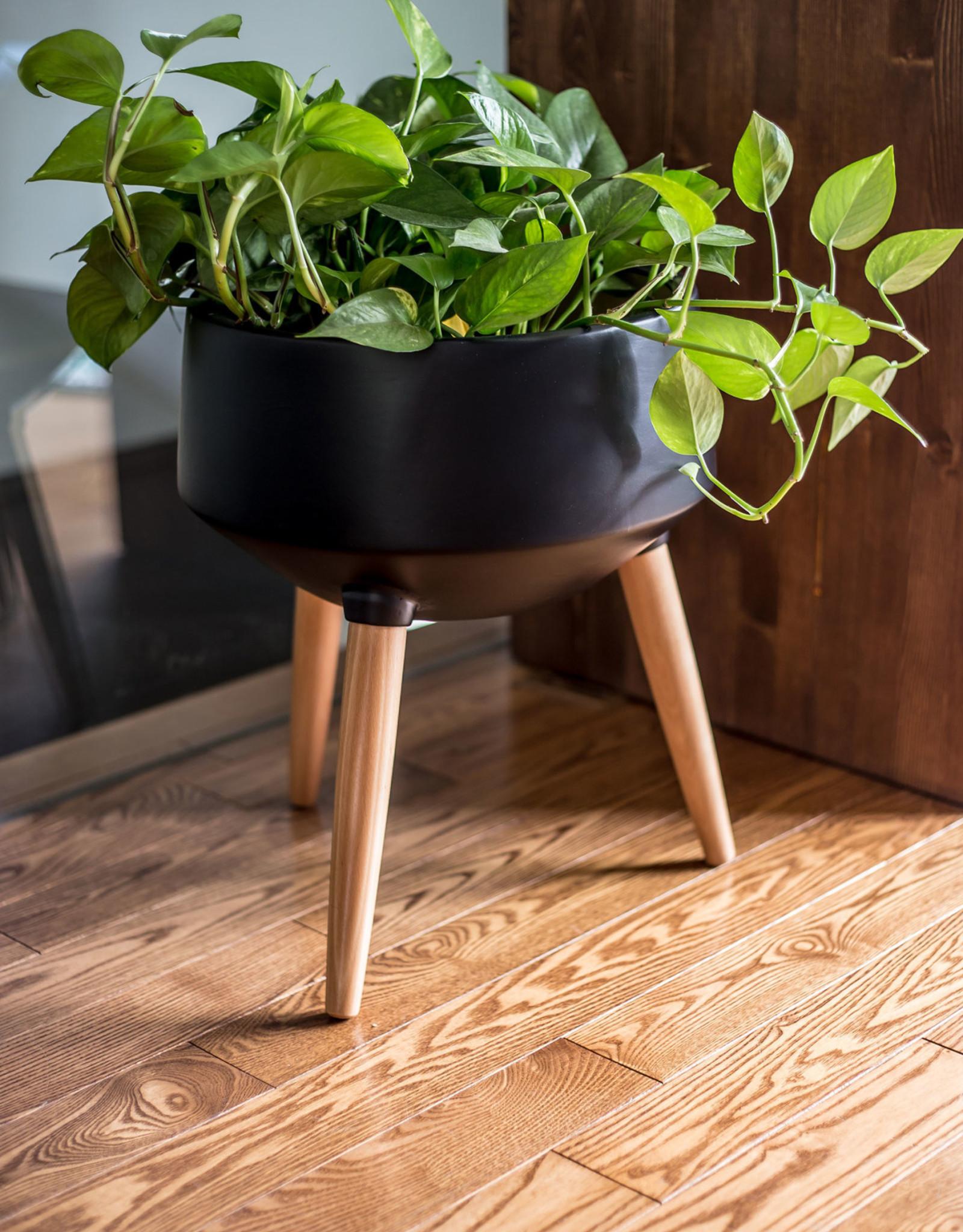 Style In Form Planter SIF Circa Mood Black AGW-007