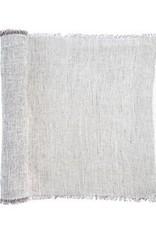 Indaba Table Runner Indaba Linen Grey Stripe 4-8245
