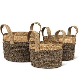 Baskets Abbott Round Handled Large
