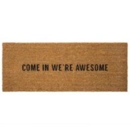 Indaba Doormat Indaba We're Awesome 1-9210-1