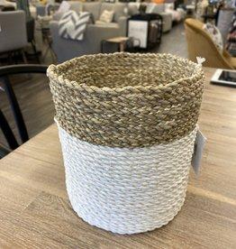 Pokoloko Basket Pokoloko Plant White/Natural Medium