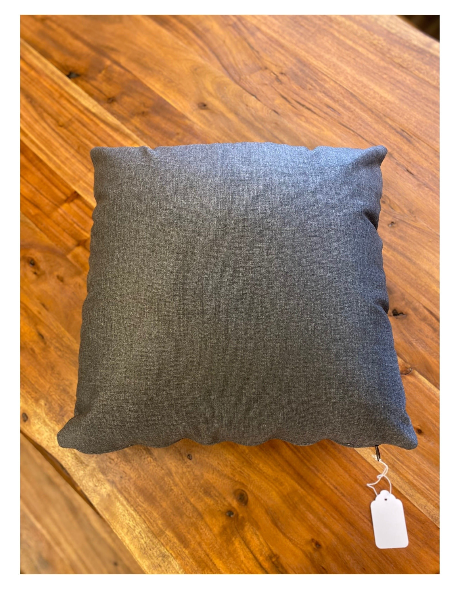 "Stylus Cushions Stylus Chrome Charcoal Toss 16"" x 16""**"