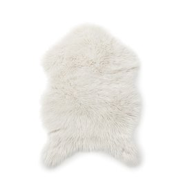 Style In Form Throw SIF Faux Fur Cream FRA-015