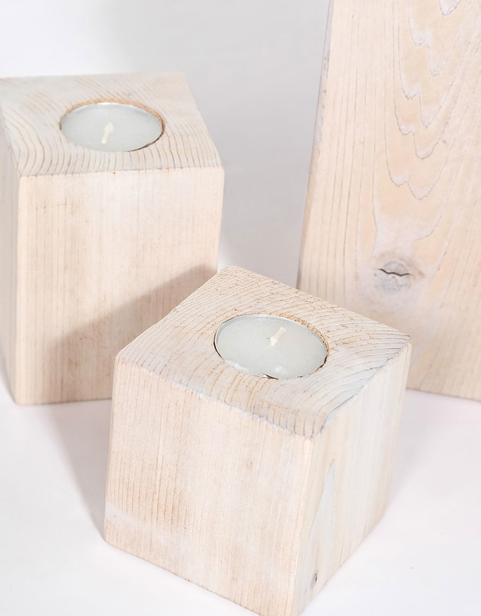Style In Form Candle Holder SIF Salish Tealights Square Med