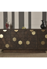 LH Imports LH Bailey Sideboard Cocoa Brown