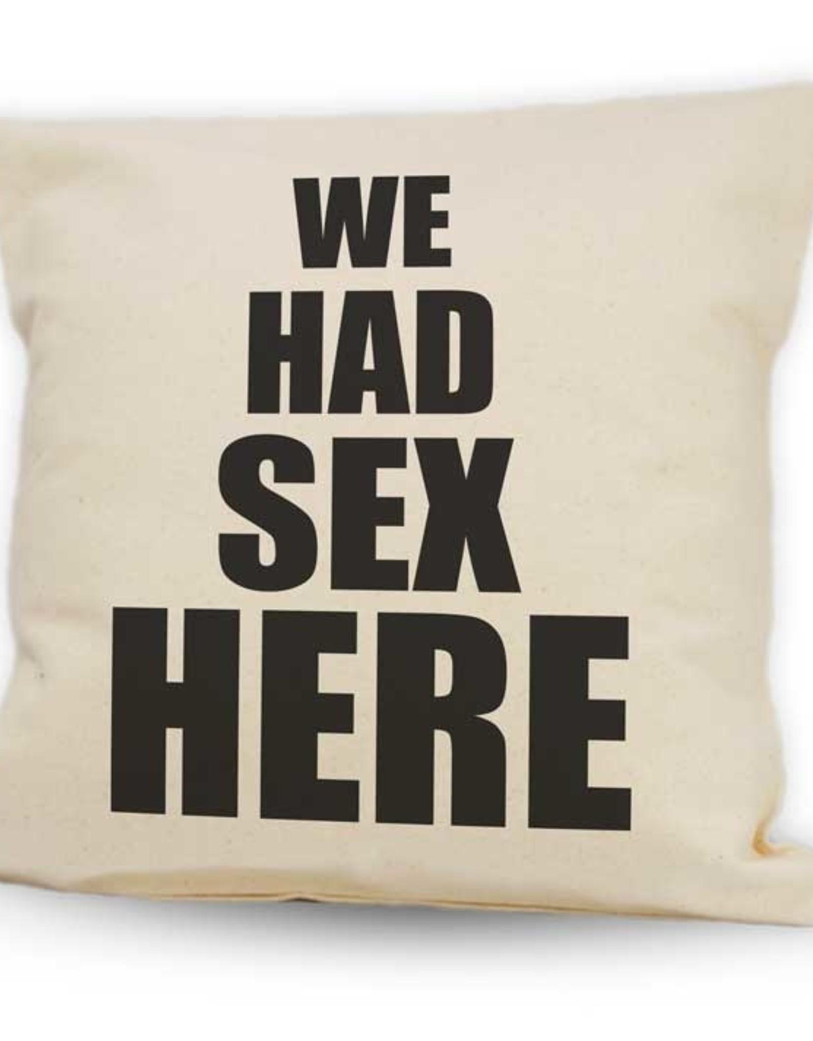 Cushions Pinetree Had Sex Here 12 x 12