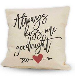 Cushions Pinetree Kiss Me Goodnight 12 x 12