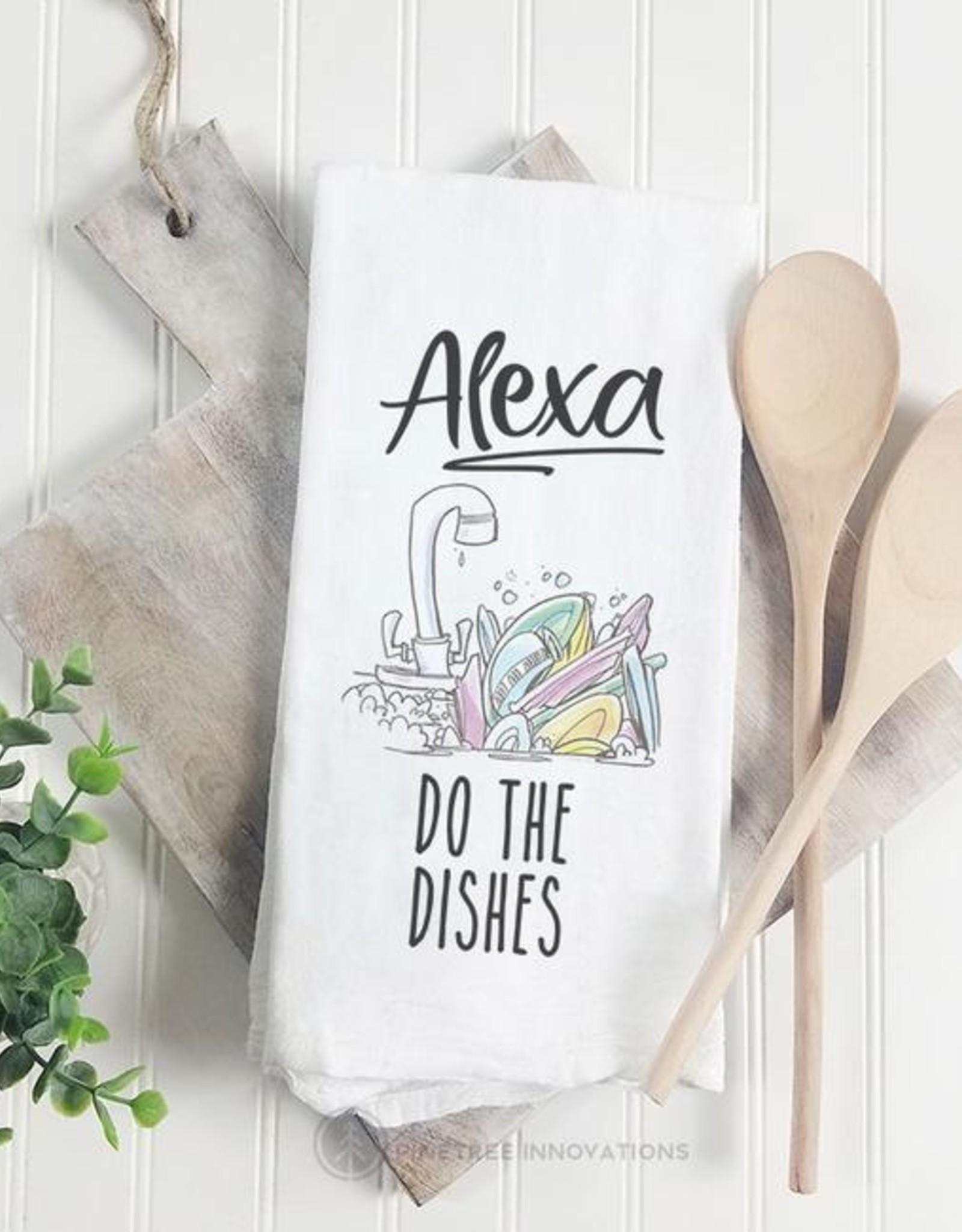 Dish Towel Pinetree Alexa Do The Dishes