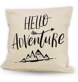 Cushions Pinetree Hello Adventure  12 x 12