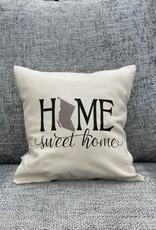 Cushions Pinetree Home Sweet Home 12 x 12