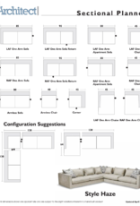 Stylus Haze Sectional Aston Dove (10)  2 PC