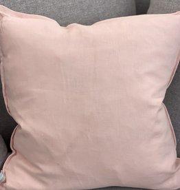 Daniadown Cushions Daniadown French Linen Pink Euro 26 x 26
