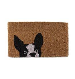 Doormat Abbott Peeking Dog