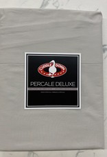 Cuddle Down Sheets Cuddledown Percale Deluxe King Flat Pebble ( 31 )