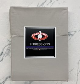 Cuddle Down Sheets Cuddledown Impressions 500 Queen Flat Sand ( 31 )