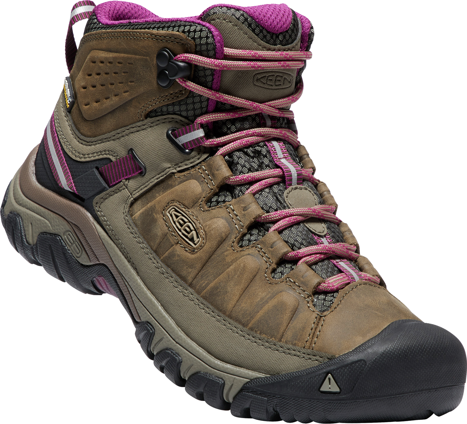 Women's Targhee III Mid Waterproof-1