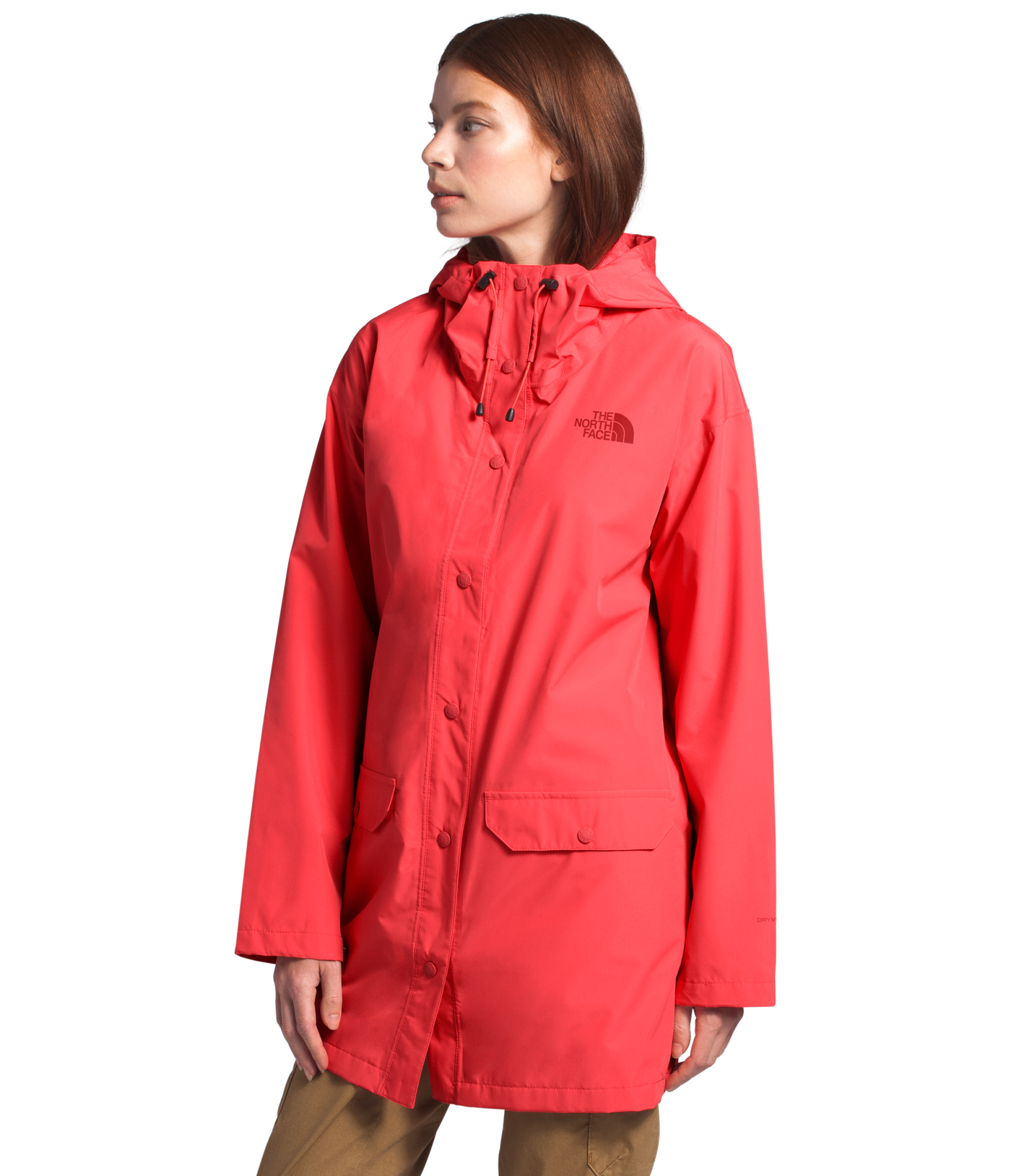 TNF Woodmont Women's Rain Jacket-4