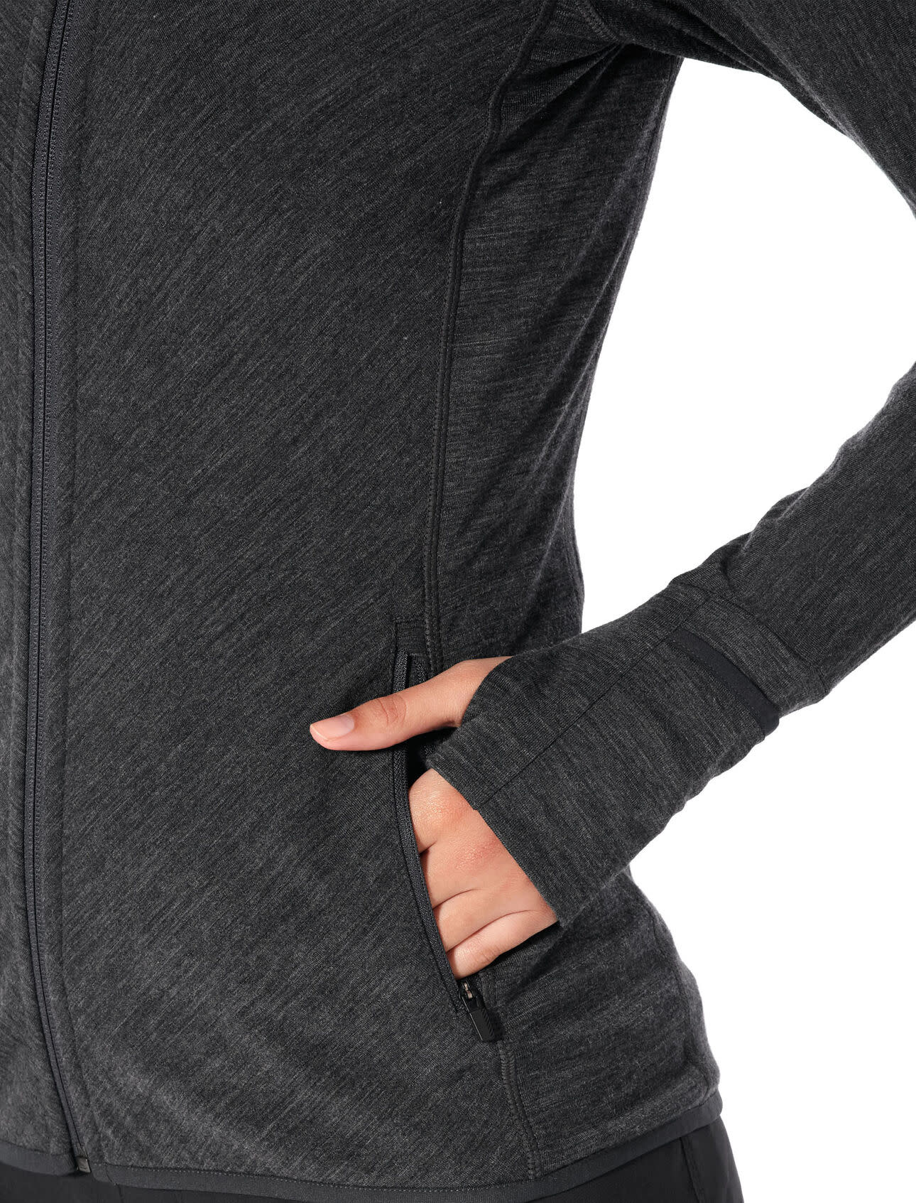 Women's Realfleece®  Descender Long Sleeve Zip-3