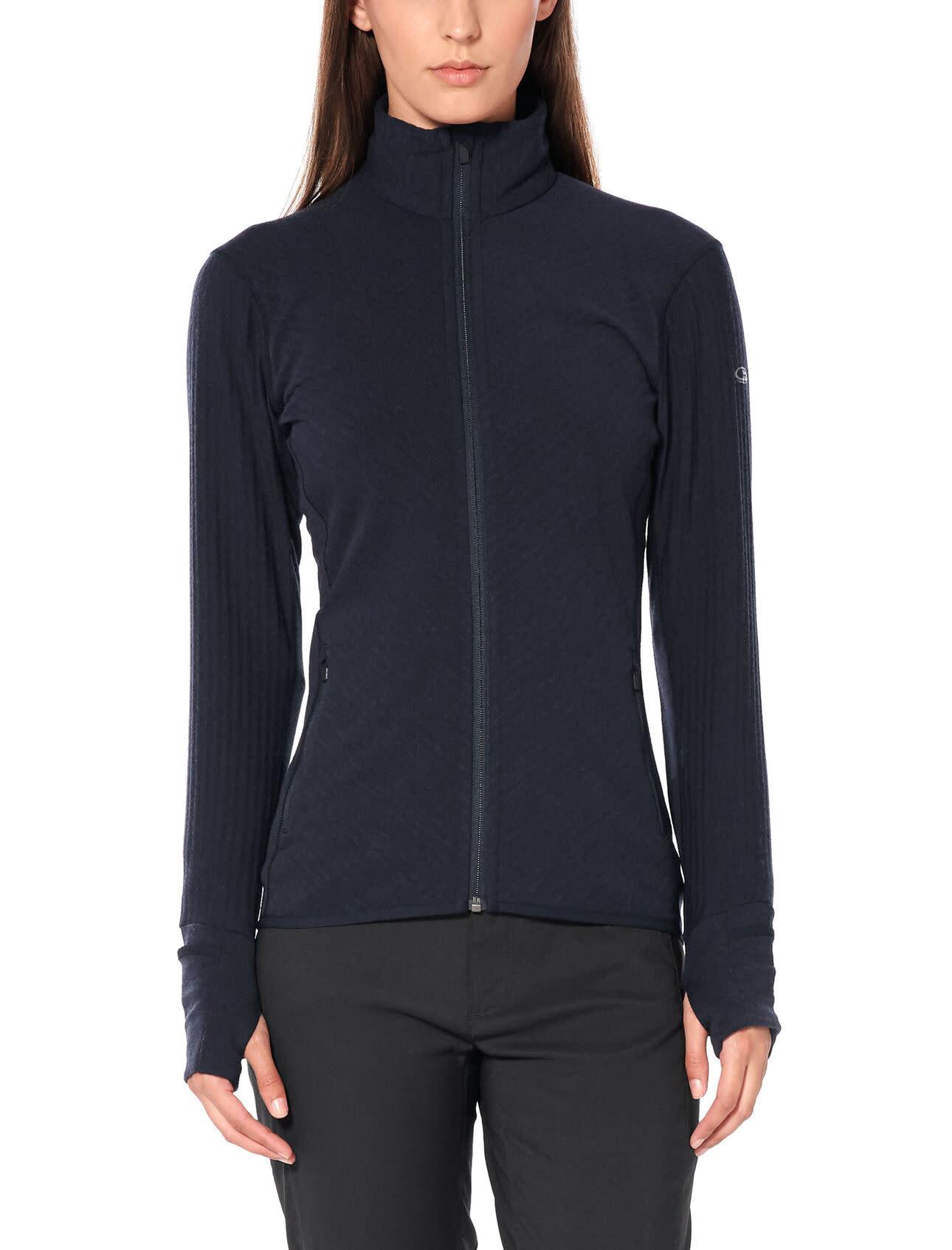 Women's Realfleece®  Descender Long Sleeve Zip-4