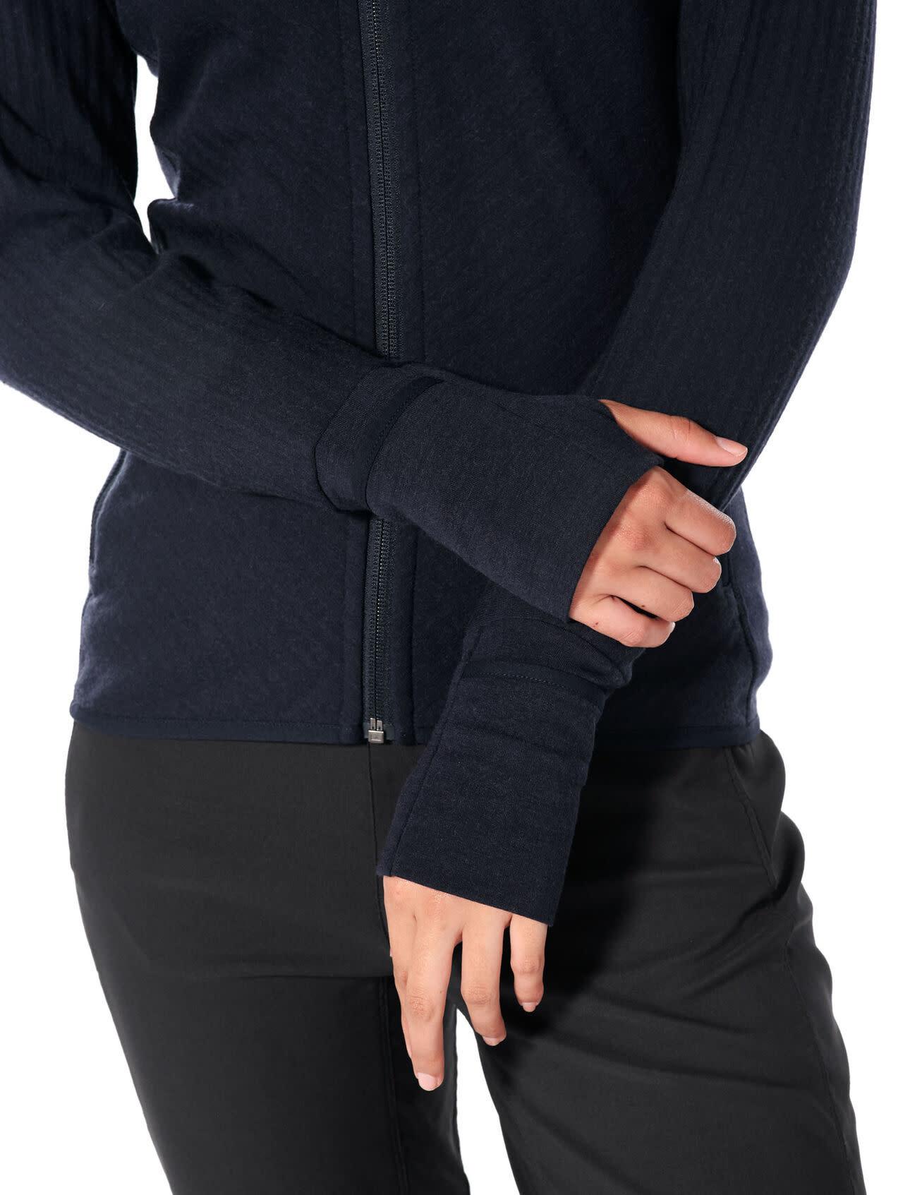 Women's Realfleece®  Descender Long Sleeve Zip-5