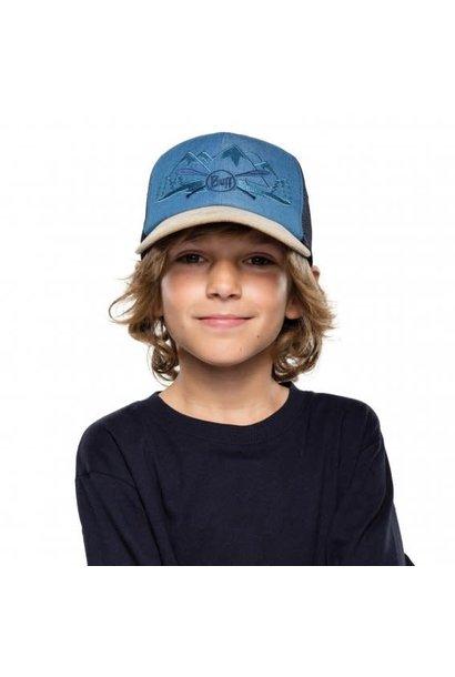 Kids Trucker Cap- Denim