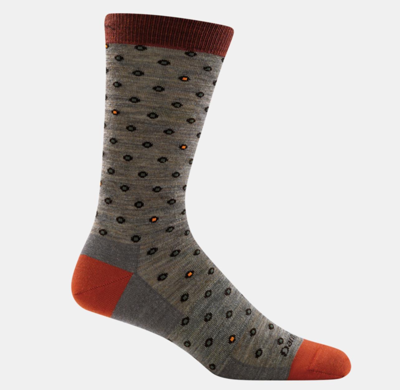 Men's Fish Eye Crew Sock-1