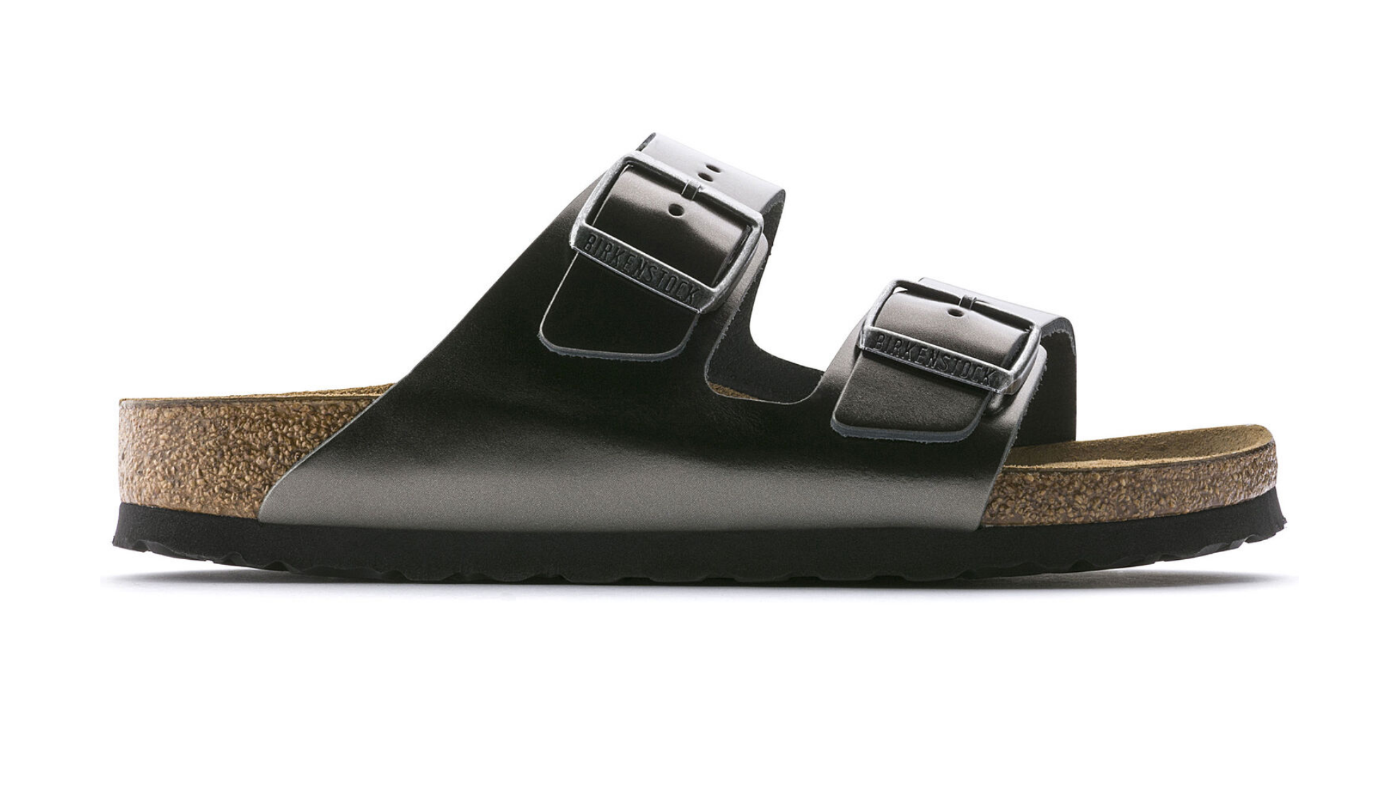 Arizona Soft Footbed in Metallic Anthracite-5