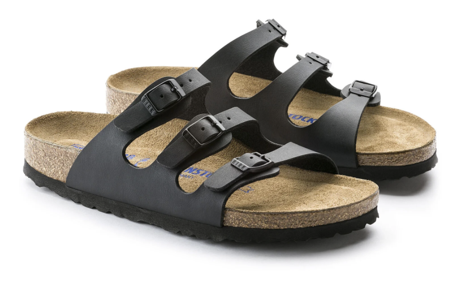 Florida Narrow Soft Footbed in Black-2