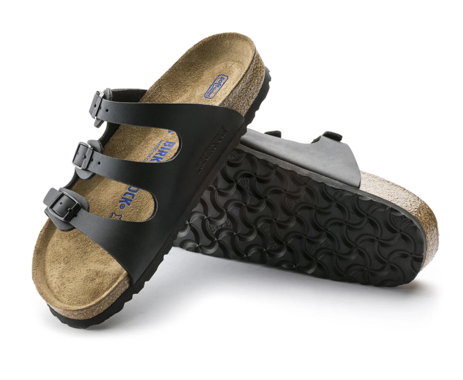 Florida Narrow Soft Footbed in Black-4