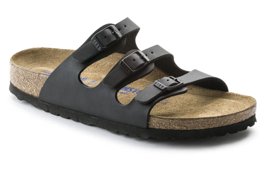 Florida Narrow Soft Footbed in Black-1