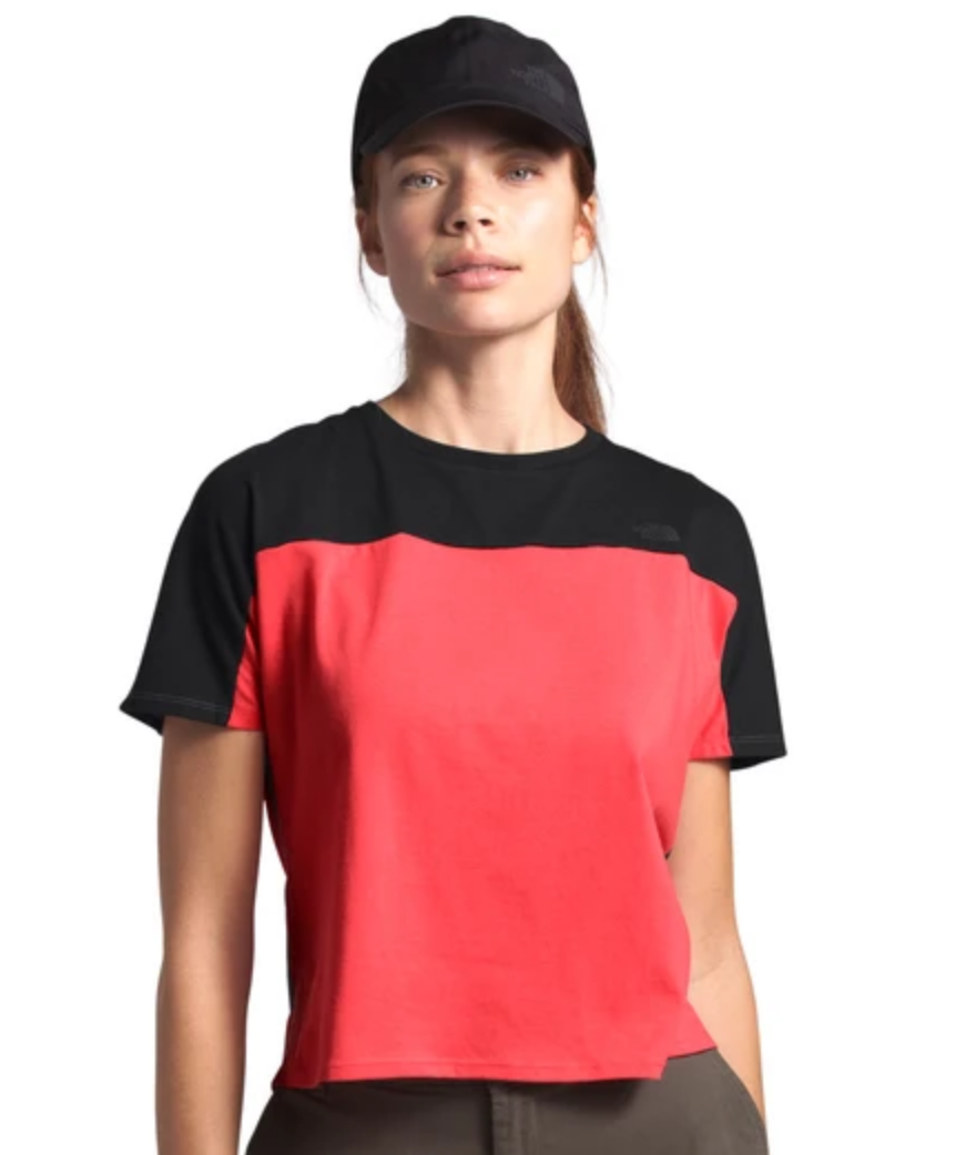 Women's North Dome Crop Tee-2