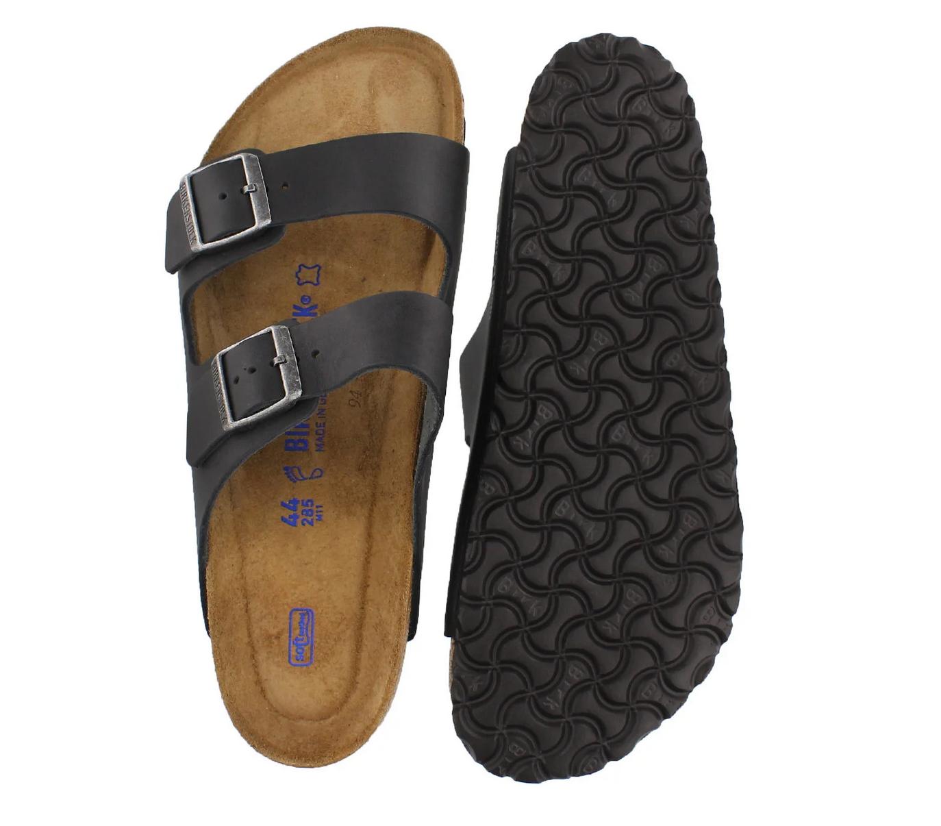 Arizona Soft Footbed Natural Black-2