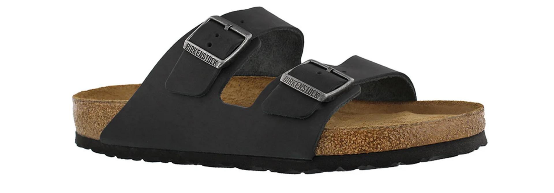 Arizona Soft Footbed Natural Black
