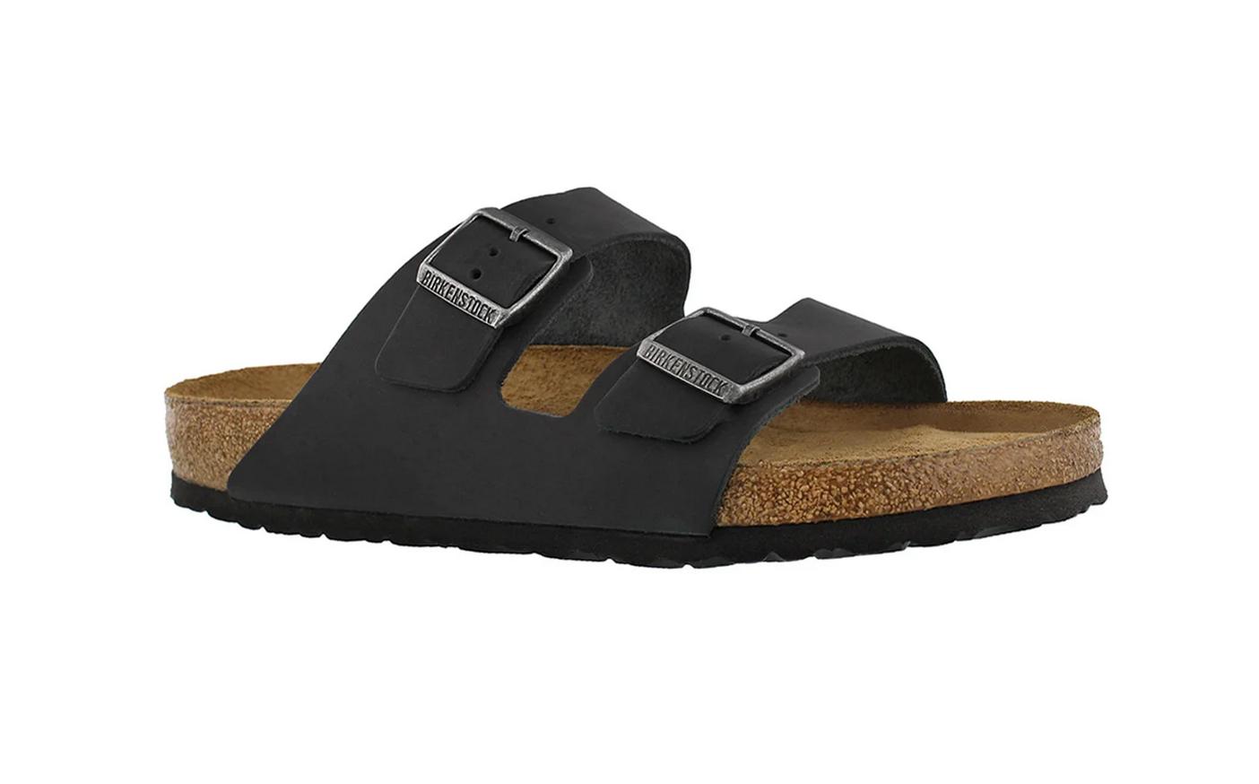 Arizona Soft Footbed Natural Black-1