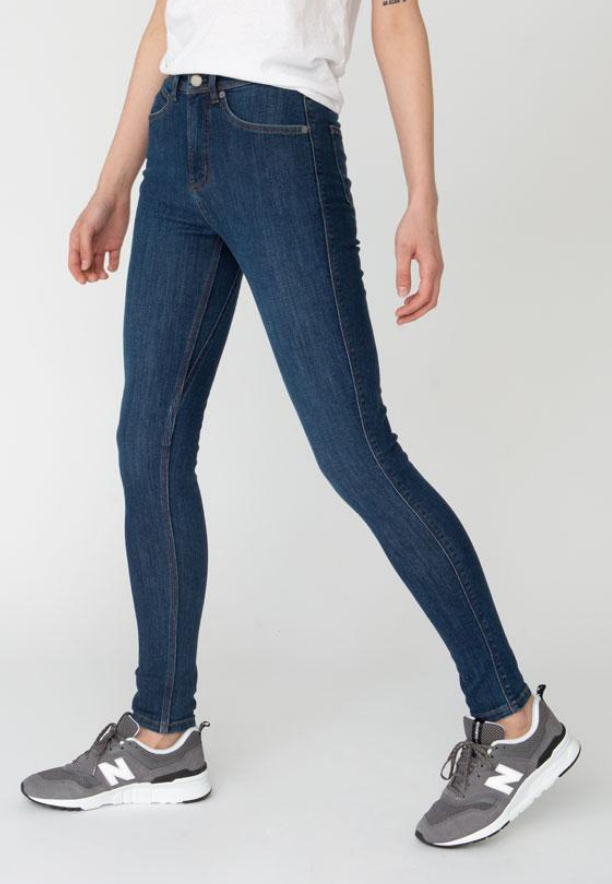 "Women's Performance Denim High Rise Skinny 31""-2"