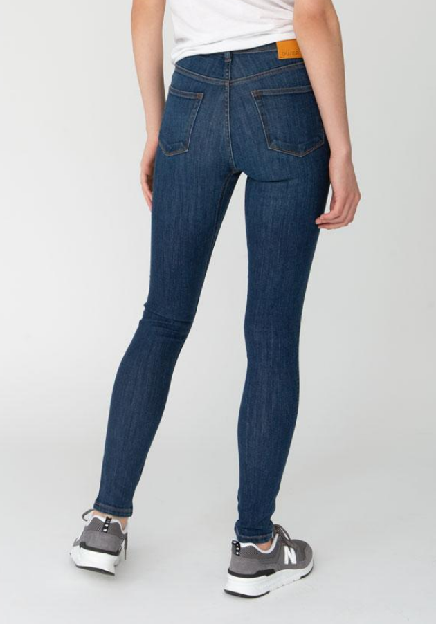 "Women's Performance Denim High Rise Skinny 31""-3"