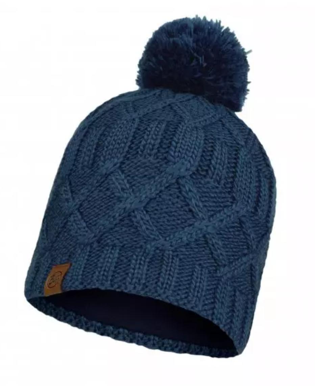 Knitted & Fleece Hat Slay-1