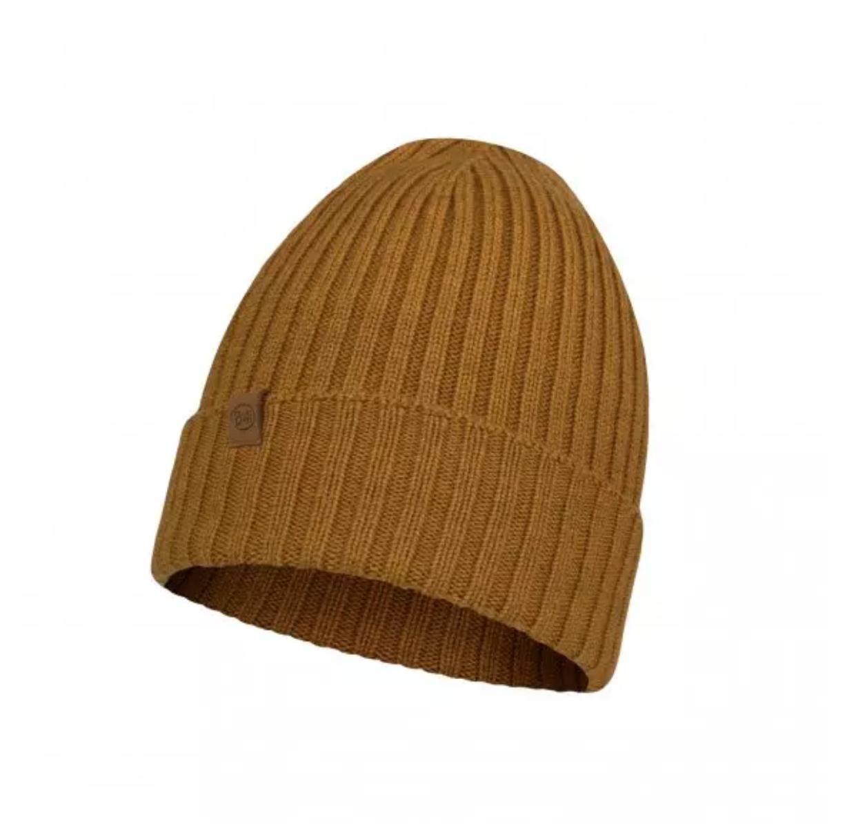Buff Merino Wool Knit Hat-2