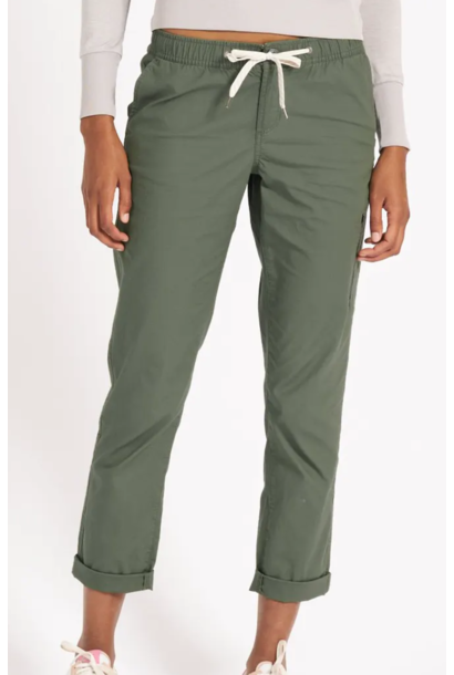 Women's Ripstop Pant Army Green