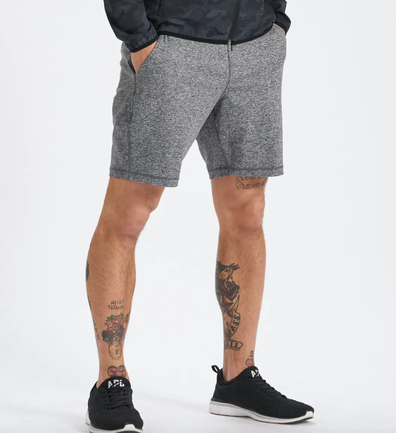 Men's Ponto Short Grey-1